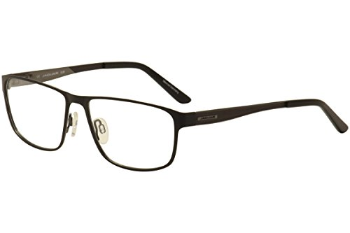 Jaguar Men's Eyeglasses 33069 928 Matte Black Full Rim Optical Frames - Frames Eyeglass Jaguar