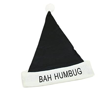 black christmas hat bah humbug xa3670 amazon co uk kitchen home