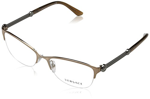 Versace VE1228 Eyeglass Frames 1361-53 - Brushed Copper - Versace Eyewear
