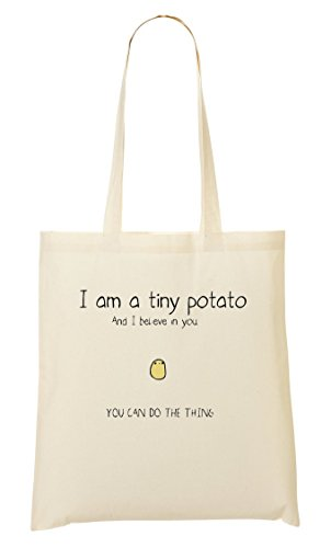 Tout Sac Believe Potato Cute I In A Sac Tiny Fourre You I'M IvqU8n
