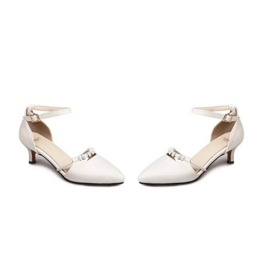 Zeppa 35 DIU01269 AN con White Donna Sandali Bianco F1Zfq