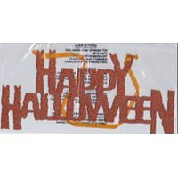 Happy Halloween Hanging Glitter (Glitter Happy Halloween Sign)