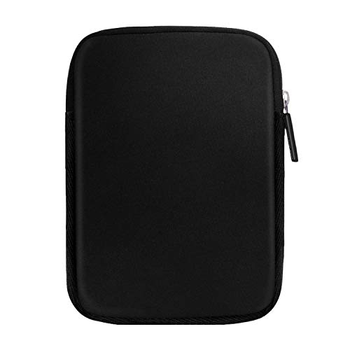 MoKo 6 Inch Kindle Sleeve Fits for All-New Kindle 10th Genreation 2019/Kindle Paperwhite, Protective Neoprene Case Bag for Kindle Voyage/Kindle Paperewhite 10th 2018/Kindle Oasis 6 E-reader, Black