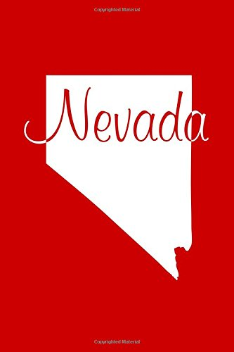 Nevada - Red Lined Notebook with Margins: 101 Pages, Medium Ruled, 6 x 9 Journal, Soft Cover pdf epub