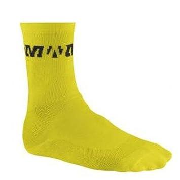 Mavic - Calcetines mavic pro sock para hombre, talla L, color amarillo: Amazon.es: Deportes y aire libre