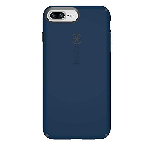 Speck Products CandyShell Cell Phone Case for iPhone 8 PLUS/7 PLUS/6S PLUS/6 PLUS, Deep Sea Blue/Slate Grey