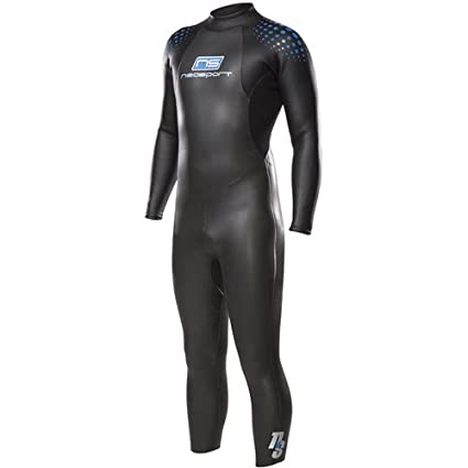 1194153ff9b Image Unavailable. Image not available for. Color  NeoSport Wetsuits Men s  5 3 Triathlon Full ...