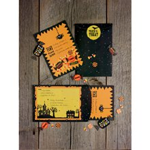 Martha Stewart Crafts - Halloween - Party Invitations - Trick or Treat