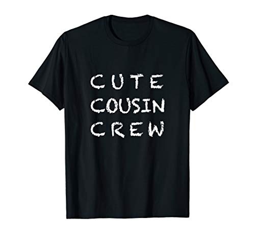- Cute Cousin Crew Group T-Shirt For Kids, Boys and Girls