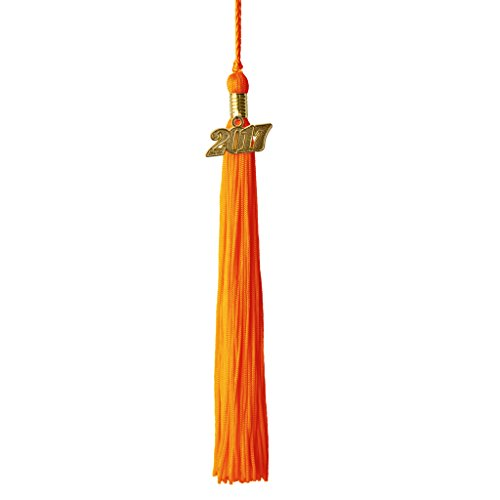 Graduation Tassels with Gold 2017 Charm -
