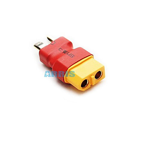 ARRIS XT60 Female Connector to T Plug Male Adapter