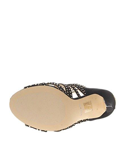 Jo Kengät Sandaali Kultaa Liu Mustaa 36 Ibis Nero gq8ZnwfC