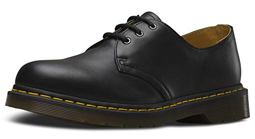- Dr. Martens - 1461 Nappa, Black, 12 M US Women/11 M US Men