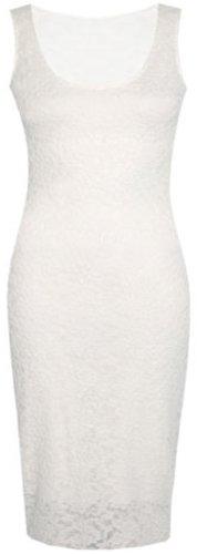 de femmes de taille ainsi nouvelles sans que robe moulante floral midi white longue dentelle manche la qdxOXnO5wY
