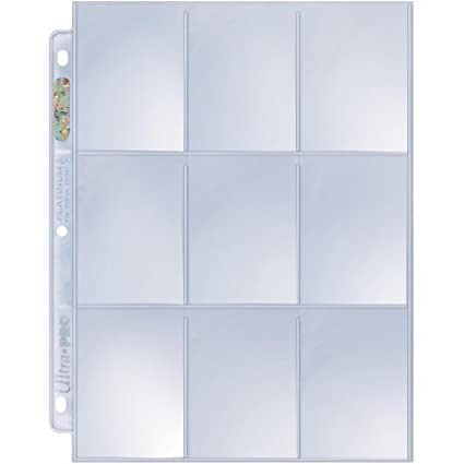Ultra Pro 3 Hockey Card Collector Starter Kit Top Loaders /& Mini Snap Holders Black Album 9 Pocket Pages Sleeves