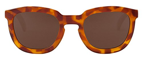 MR.BOHO Leo Tortoise Lemarais with Classical Lenses, Lunettes de Soleil Mixte Adulte, Multicolor (Carey), Taille Unique