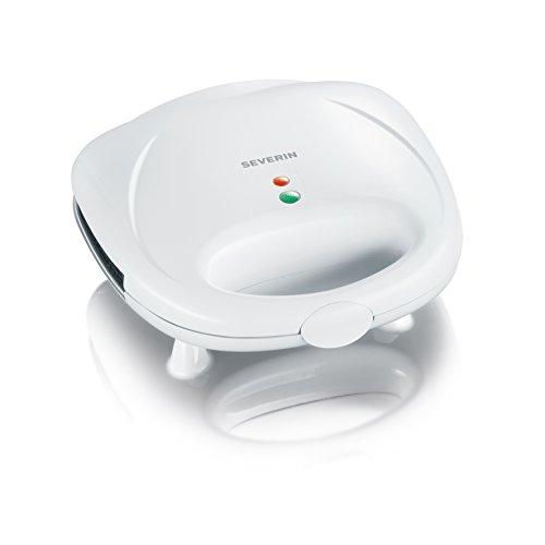 Severin SA 2967 Sandwich-Toaster mit Grillplatten, weiß