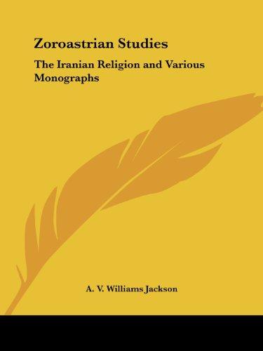 Zoroastrian Studies