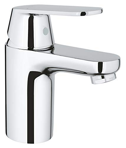 GROHE 32829000 | Eurosmart Cosmopolitan Single-Lever Basin Mixer | Chrome (Grohe Eurosmart Single Lever Bath Shower Mixer)