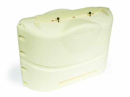 (Camco 40525 Heavy-Duty 20lb Propane Tank Cover (Beige))