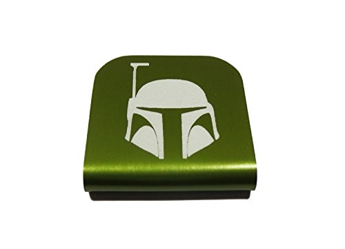 Jango Fett Jetpack Costume (Boba Fett Star Wars Morale Tags Hat Clip for Tactical Patch Caps (Green))