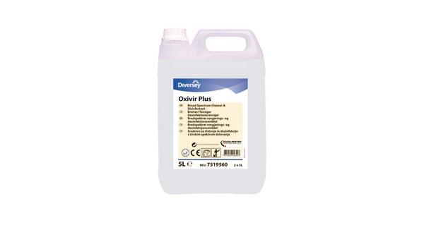Desinfección limpiador Diversey DI Oxivir Plus 5 L fragancia - y ...