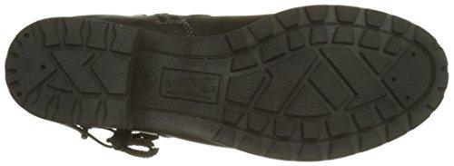 3797304 Biker Tom Tailor Black Women''s black Boots EFT6wOzq