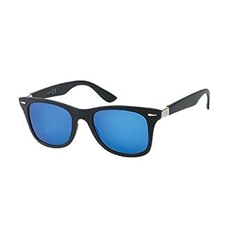 Chic-Net Gafas de sol Wayfarer 400 UV marrón negro ...