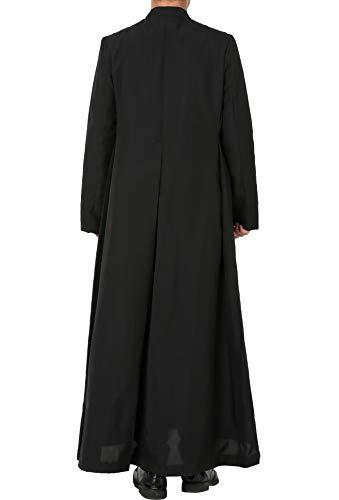 Ivyrobes Unisex-Adults Clergy/&Pulpit Cassock Black