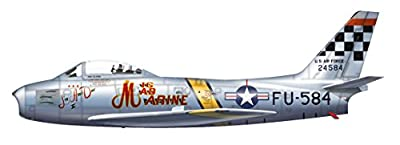 "F-86F Sabre 1/72 Die Cast Model, 52-4584, ""MIG MAD MARINE"" 25th FS, Suwon AB, 1953"