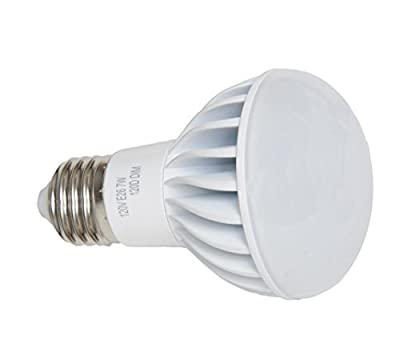 Avalon R20 7 Watt (50 Watt replacement) LED Light Bulb, 120 Degree Light Beam Spread, Dimmable