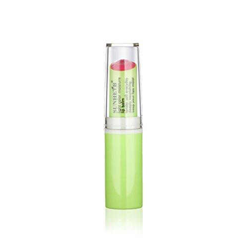 Sunherb Natural Moisturizing Tinted Lip Balm, tenderness pink, 1 Tube, Pack of 3