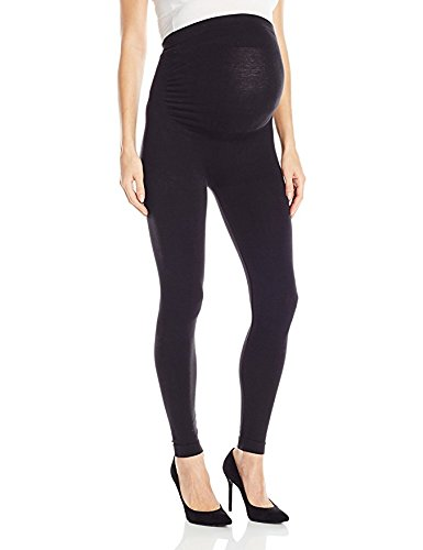 5907253c425619 Leading Lady Women's Maternity Support Leggings Bra, Jet Black, 3XP ...