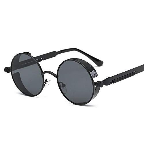para Sol de Verde pequeñas Hombre de Sol Sabarry Redondo Gafas Espejo Talla polarisierenden con única 3 Vasos Efecto y Gafas 5 Mujer 7wPxPITqO