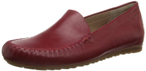 Rose Petals Mujeres Eagle Slip-on Loafer Red Nappa