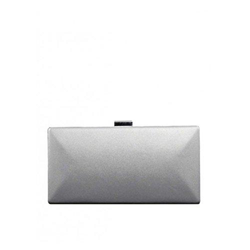 Valentino Port Sintetica Handbags Vbs2lq01 argento Pochette atwar