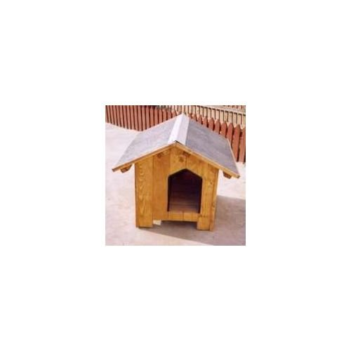 Kennel Xtra White Wood Baita n.4 cm.132 x 88 h.90 A House for dogs [Xtra White]