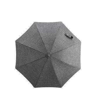 Stokke Stroller Parasol with Black Frame, Black Melange