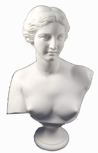 Estia Creations Aphrodite Sculpture Venus Statue Goddess of Love Great Bust]()