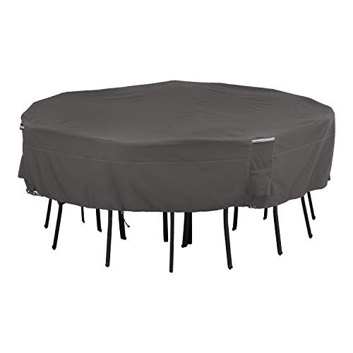 Classic Accessories Ravenna Square Patio Table & Chairs Cover, Large