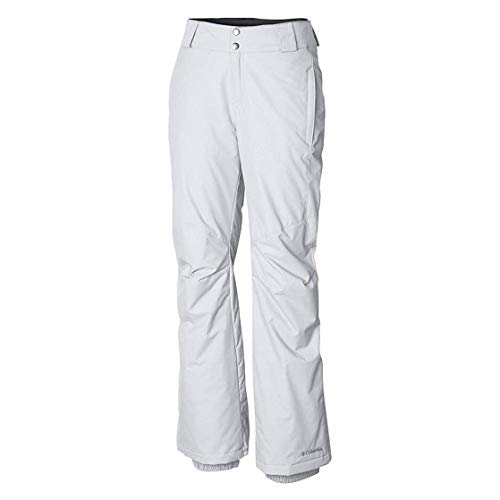 Columbia Women's Standard Bugaboo II Pant, White, Medium x Regular (White Womens Snowboarding Pants)