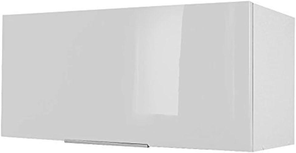 Berlioz Creations - Mueble Alto de Cocina sobre Campana extractora, Gris, 80 x 34 x 35 cm: Amazon.es: Hogar