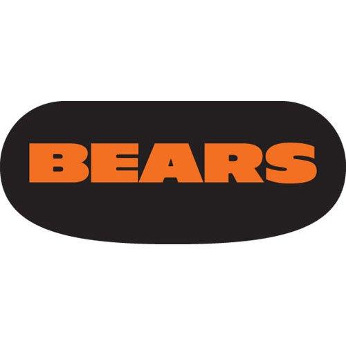 Chicago Bears Black Face - Chicago Bears Team Logo Eye Black Strips-3 Pairs