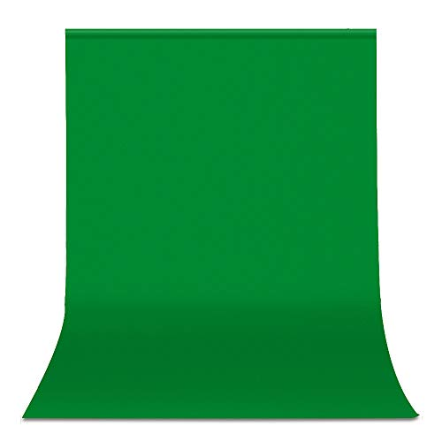 UTEBIT 6x9 Green Screen Polyester Backdrop Wrinkle Free Solid Color 1.8 x 2.8M Chromakey Photo Background Cloth Sheet Foldable for Photography Video Studio Backdrops (Stand Not Included) (Best 6x9 Folding Camera)