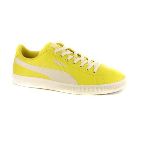 Mens Puma Archive Lite Low Nylon Yellow Retro Sneakers-Yellow-10.5