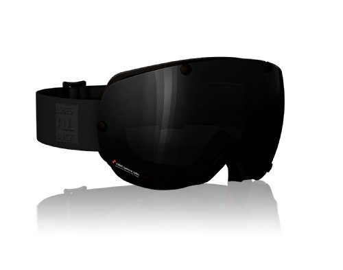 POC Lobes All Black Goggles (Black, One Size) by POC