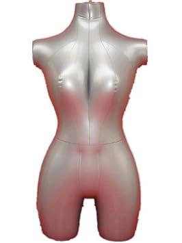 Nueva hembra 3/4 forma hinchable maniquí maniquí de torso ...