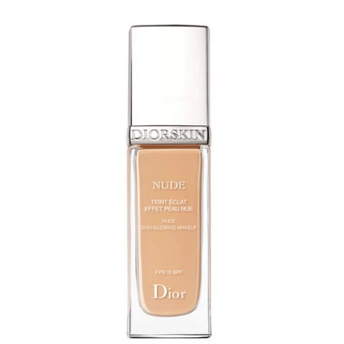 Christian Dior Nude Skin-Glowing Makeup SPF 15, 010 Ivory, 1 Ounce