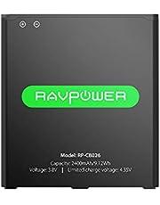 RAVPower Batteria per Galaxy J3 e J5 da 2400mAh Batteria di Ricambio agli Ioni di Litio per Galaxy J320A / J320V / EB-BG530BBU / EB-BG530BBE / Galaxy J5-G530P / G530T / G530H / G530R / G530AZ