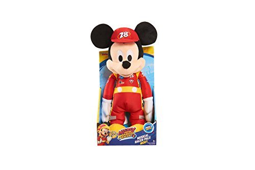 Racer Plush - Roadster Racers Singing Light-Up 12